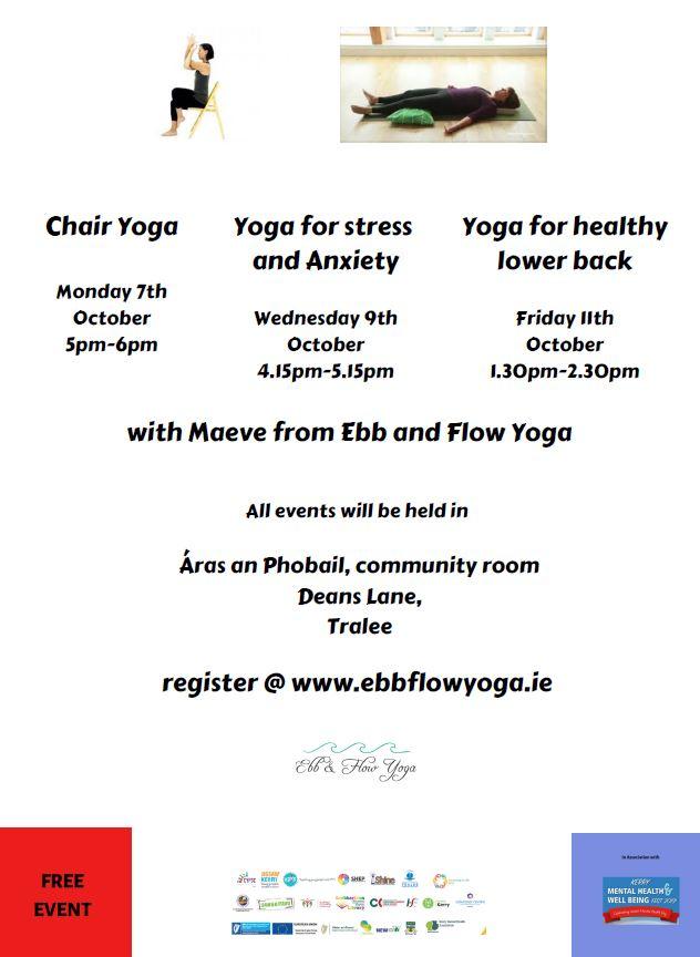 Yoga workshops to be uploaded
